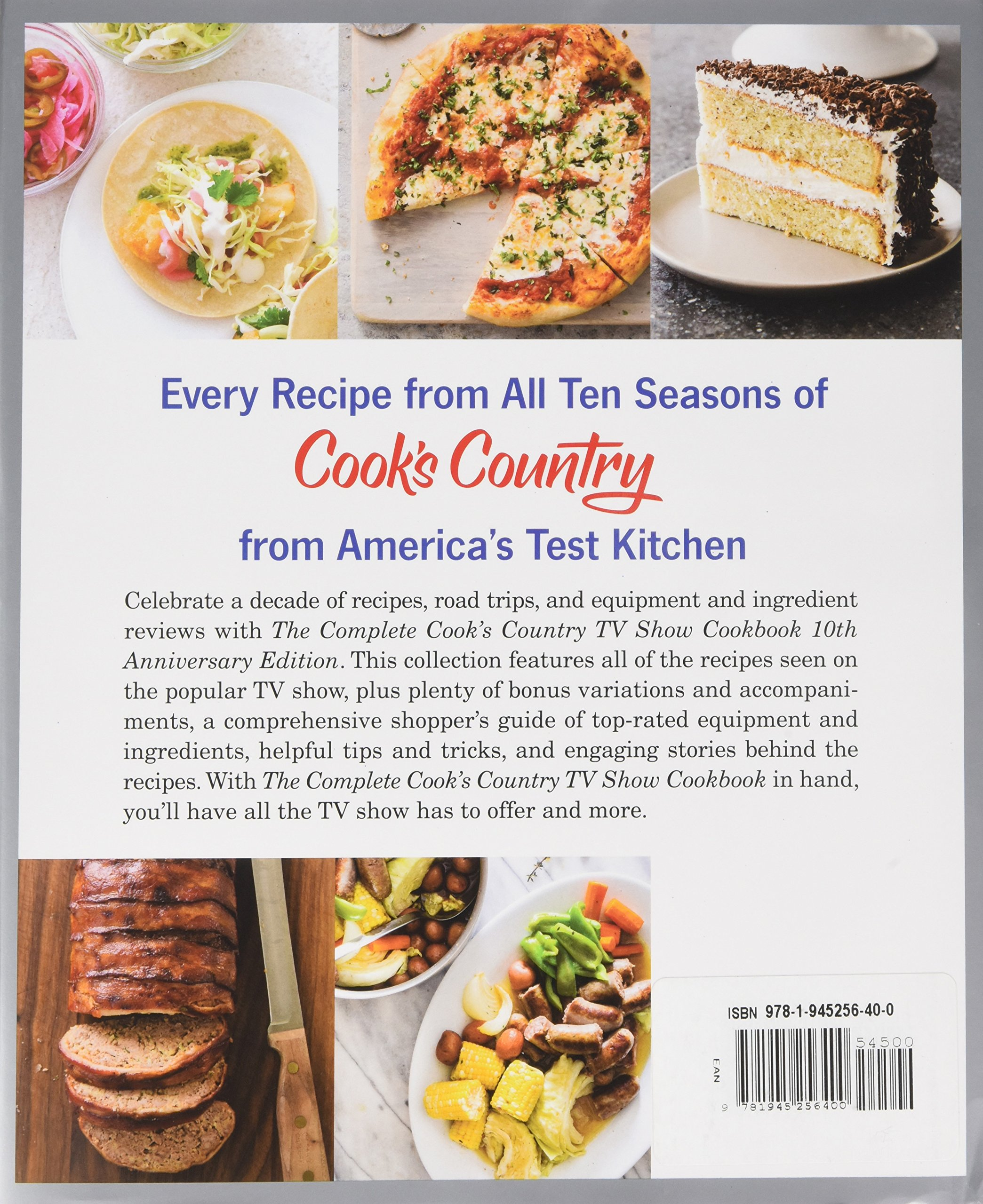 The Complete Cook\'s Country TV Show Cookbook 10th Anniversary ...