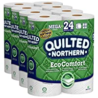 Deals on Quilted Northern EcoComfort Toilet Paper 24 Mega Size Rolls