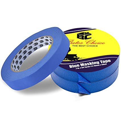 Amazoncom Bates Painters Tape Inch Paint Tape Pack Of - Tape painting