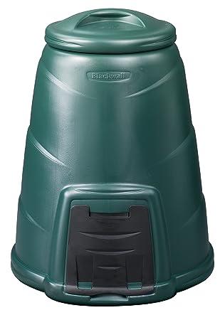 Blackwall - Compostador (330 L), color verde