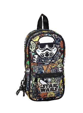 Star Wars Galaxy Oficial Neceser Con 4 Estuches y útiles 120x50x230mm