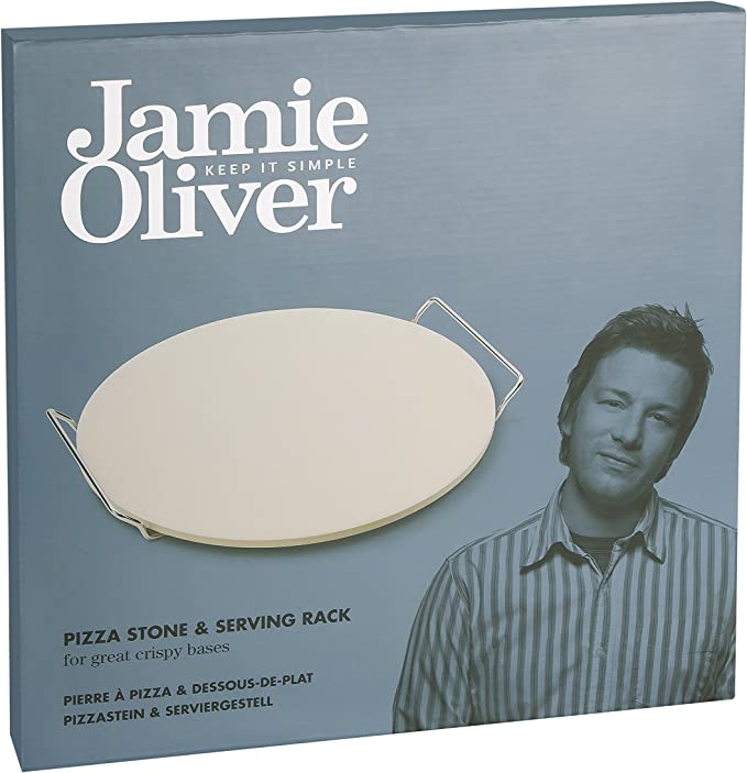 Jamie Oliver 556939 Pizza Schneider Pizza Couteau Rustic Italian 4 pièces