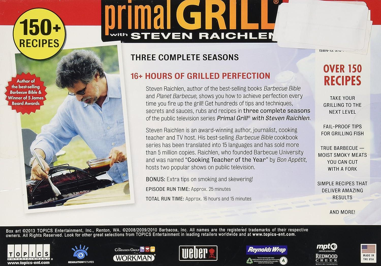 Amazon.com: Primal Grill Seasons 1-3 with Steven Raichlen: Steven Raichlen: Movies & TV