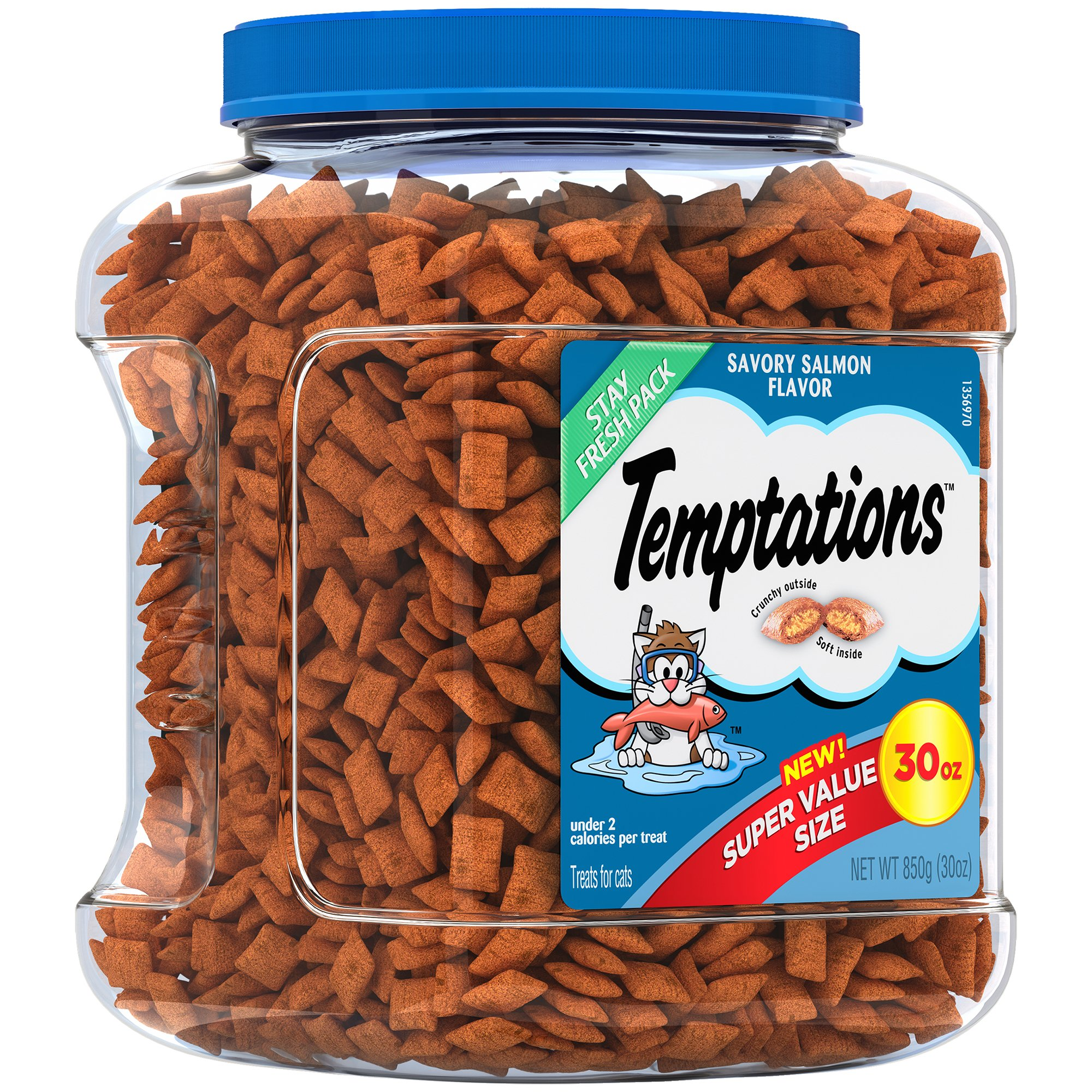 TEMPTATIONS Holiday Treats for Cats 30 ounces