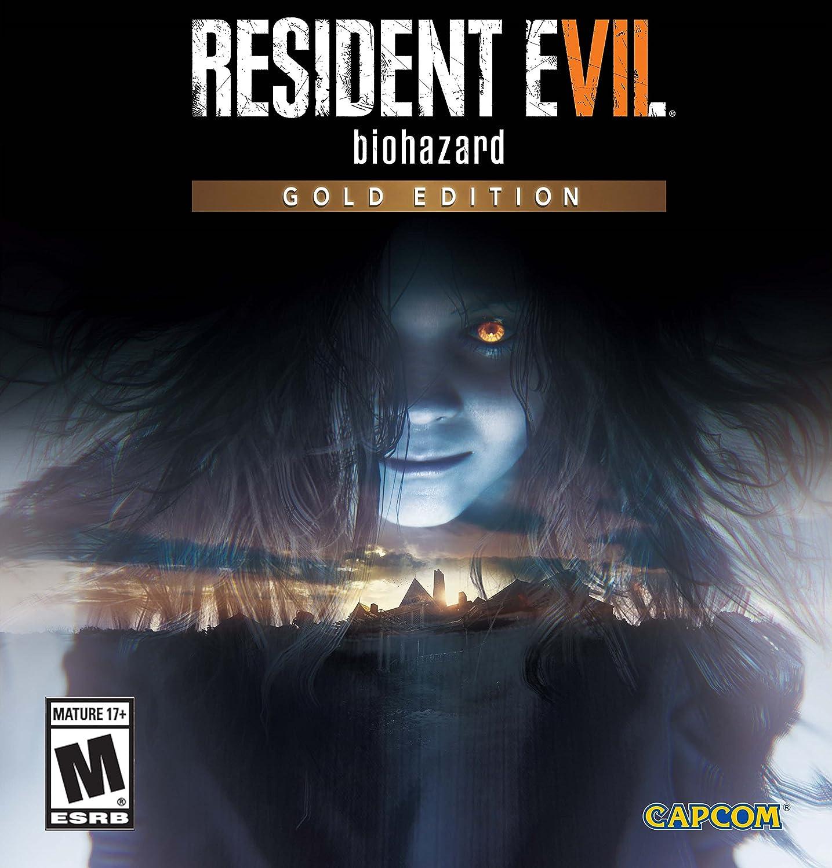 Amazon com: Resident Evil 7 Biohazard Gold Edition - PlayStation 4