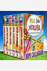 Fall into Murder Cozy Mysteries Box Set Collection Kindle Edition
