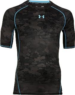 401a2b00e Under Armour Men's Heatgear Armour Printed Short Sleeve Compression Shirt