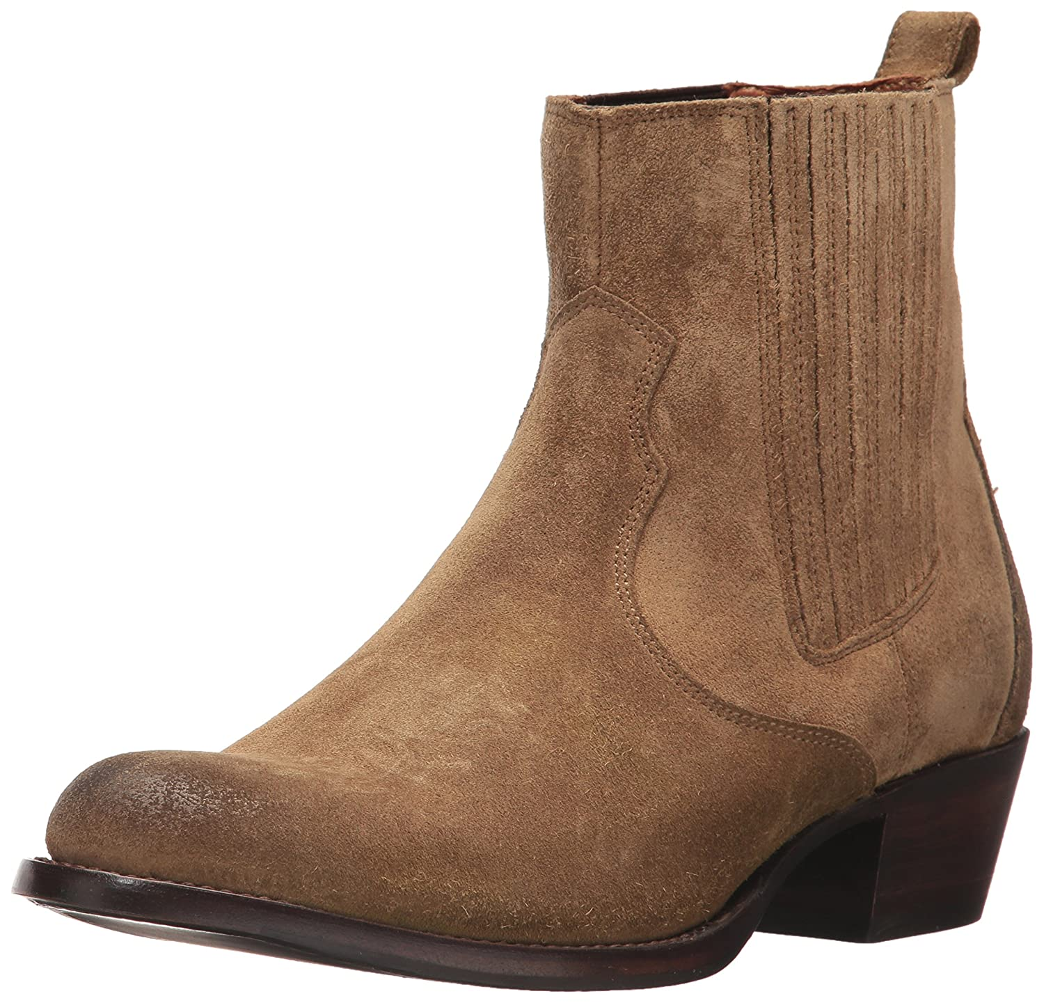 FRYE Women's Diana Chelsea Boot B01N9SYY7O 7.5 B(M) US|Tan Full Grain Brush Off
