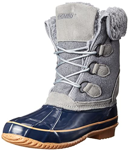 Khombu Womens Jilly KH Cold Weather Boot Grey