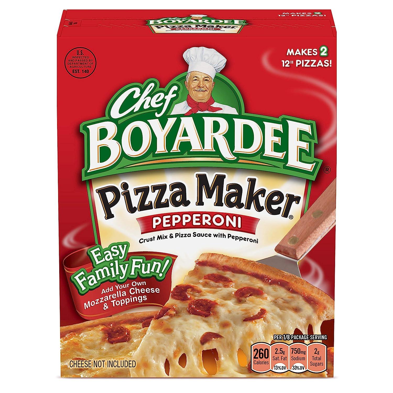 Chef Boyardee Pepperoni Pizza Maker, 31.85 Oz, 6 Pack