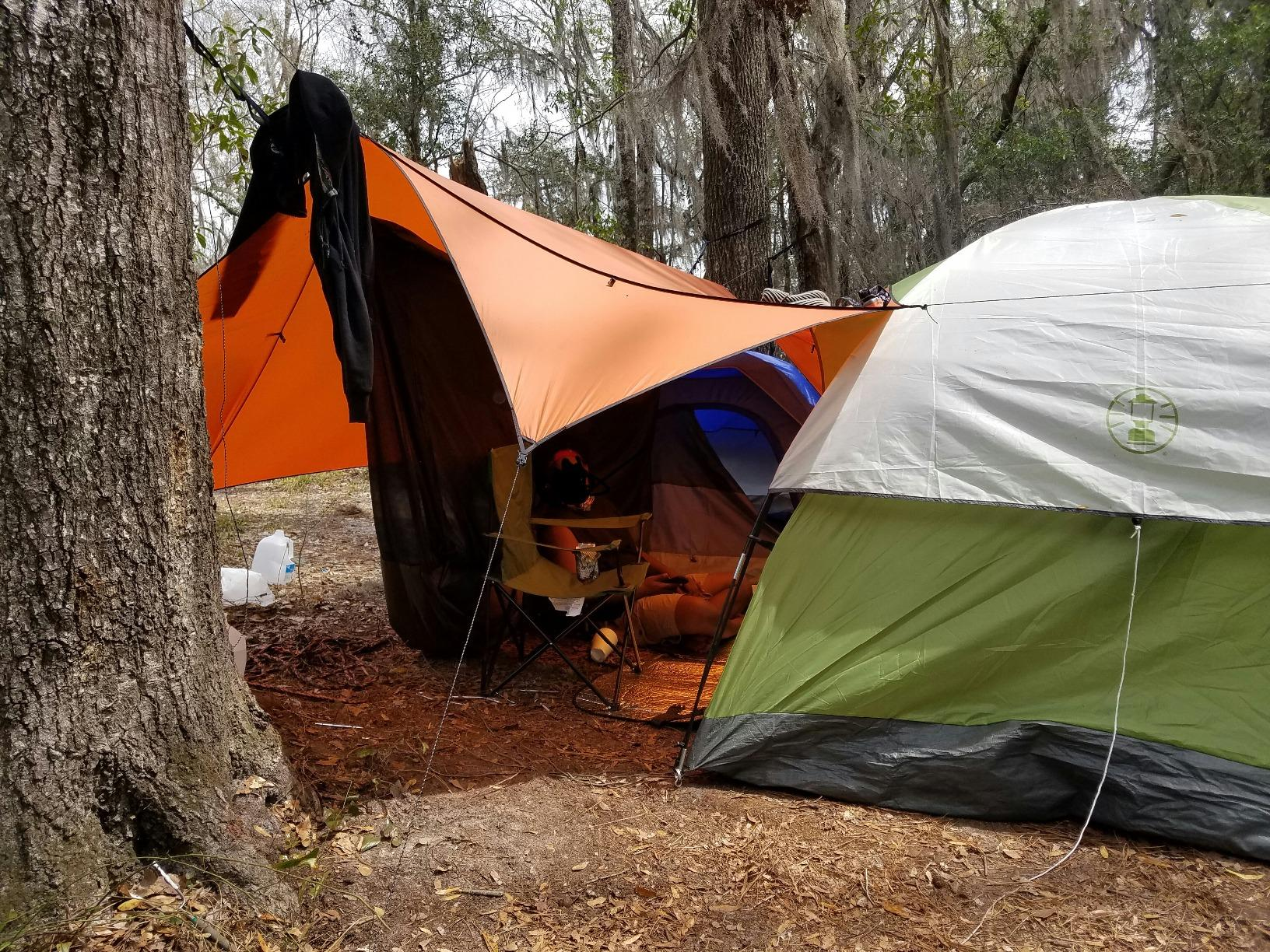 ENO Eagles Nest Outfitters - HouseFly Rain Tarp-Just like a tent but now your hammock is in the tent!