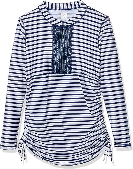 Cabana Life Coastal Bordado de la Mujer Crush Swim – Camiseta ...