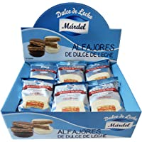 Alfajores Mardel chocolate blanco 24ud