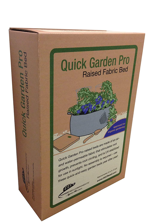Amazon.com: Hanes Geo Components 81666 Quick Garden Pro Raised ...