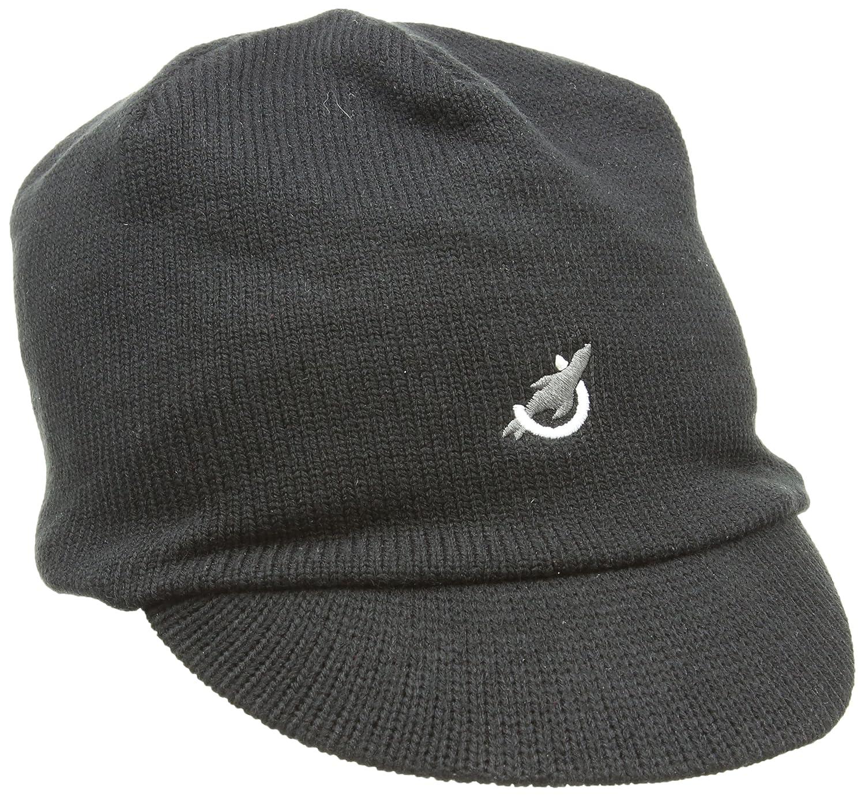 90a3c91cd7e SealSkinz Waterproof Peaked Hat Beanie - Black