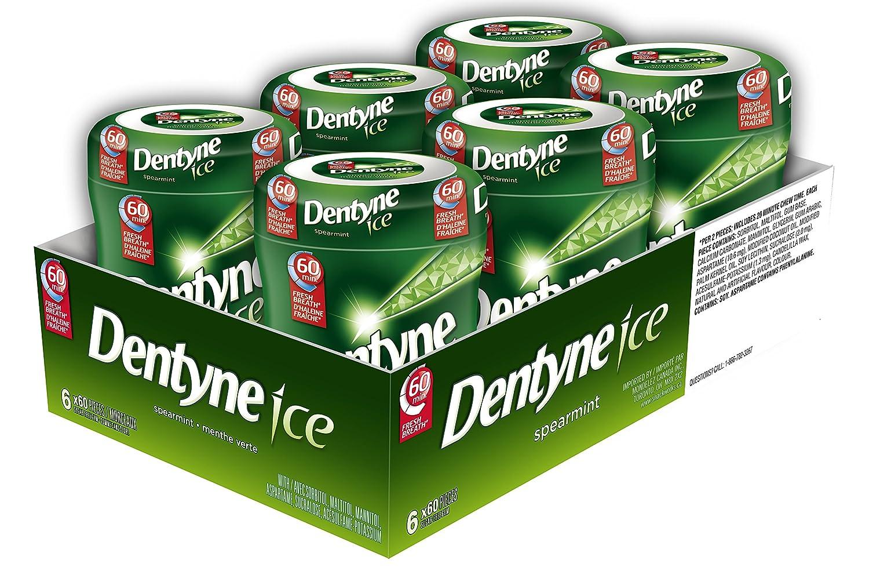 Dentyne Fire Bubble Gum, Cinnamon Bottle, 6 Count (Packaging May Vary) Mondelez