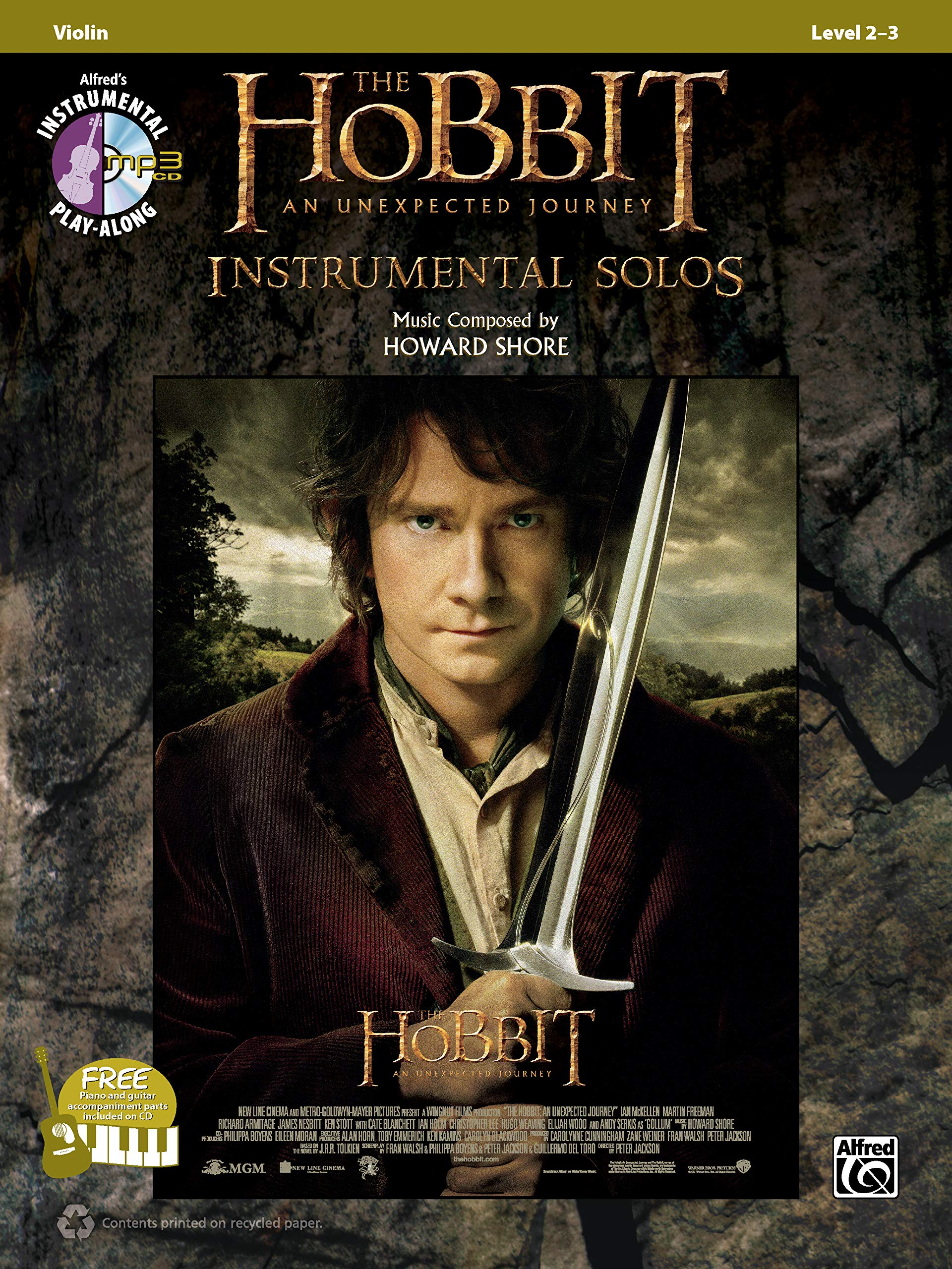 LORD OF THE RINGS TRILOGY Solos Violin Book /& CD