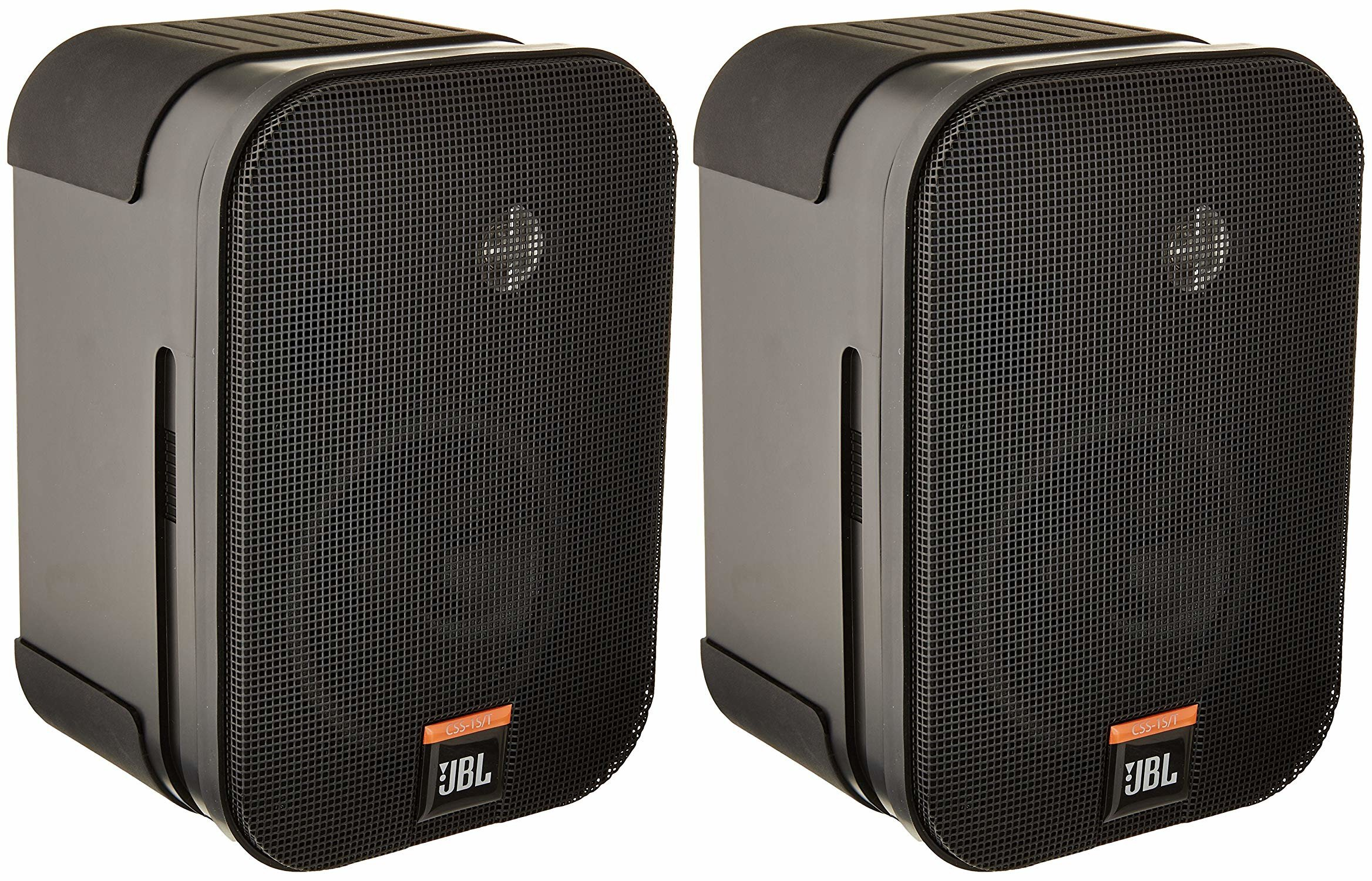 JBL CSS-1S/T Compact Two-Way 100V/70V/8-Ohm Loudspeaker, Black (sold as pair) by JBL Professional