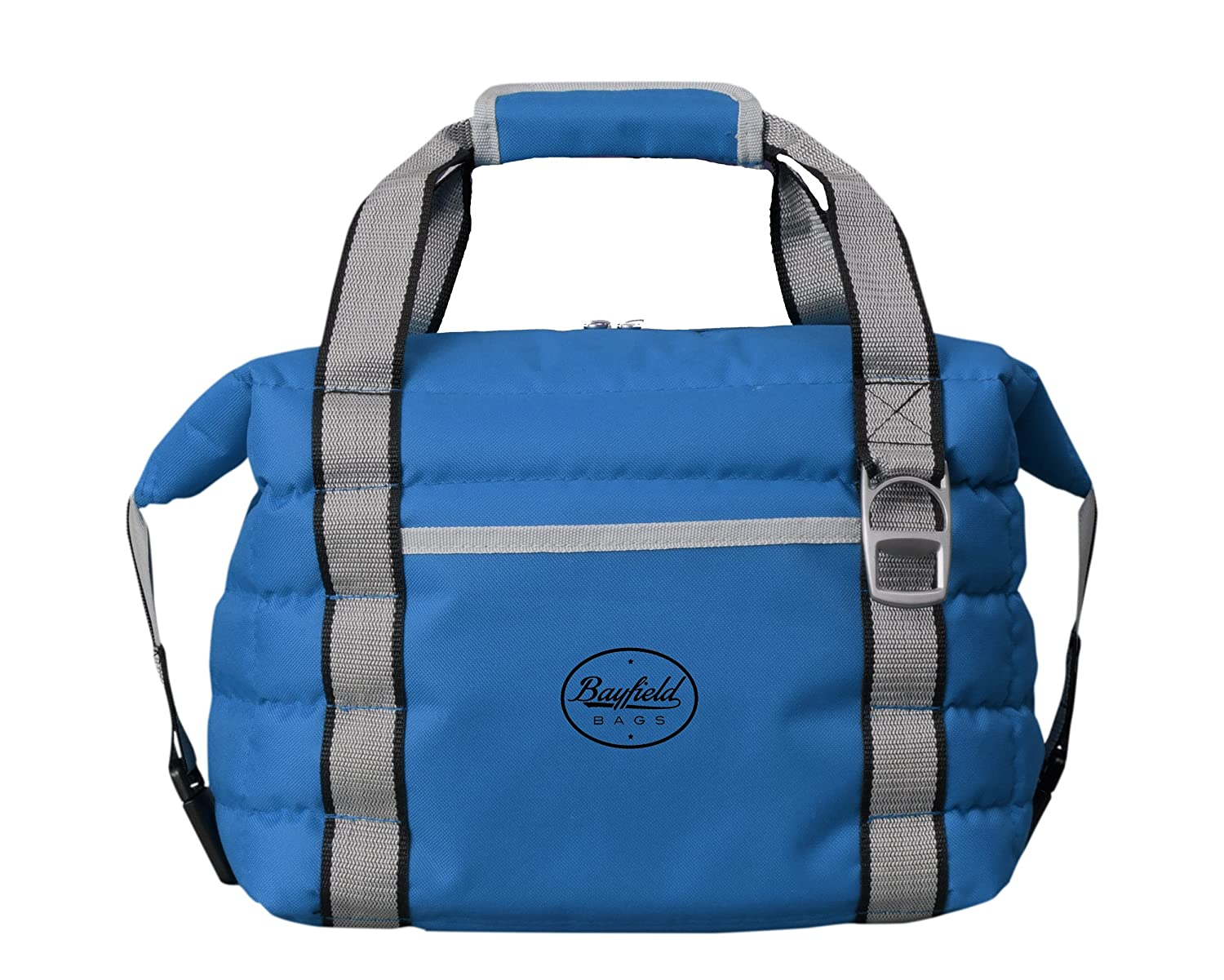 Bayfield Bags Heavy-Duty Soft Sided Collapsible Cooler Bag Holds 16 Cans -Lightweight Thermal Cooler with Thick Lining & Insulation