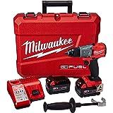 """Parafusadeira Furadeira Impacto 1/2"""" M18 FUEL Milwaukee - Acompanha 2 baterias, carregador e maleta de transporte"""