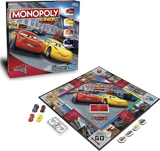 Disney Cars 3 Monopoly Junior **Nuevo**: Amazon.es: Juguetes y juegos