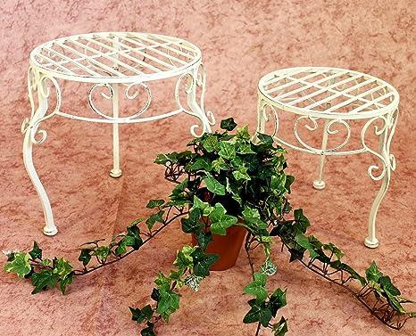 Sgabello fiori romance set da porta fiori porta piante