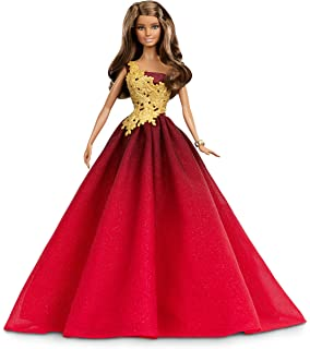Barbie Noel 2015.Amazon Com Barbie Collector 2014 Holiday Doll Discontinued