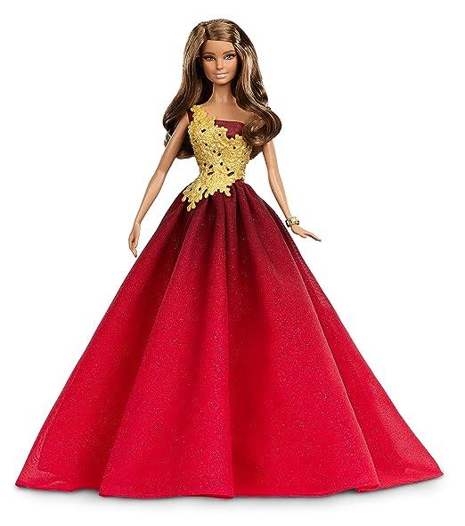 112 opinioni per Barbie DRD25- Bambola Barbie Magia delle Feste 2016 con Abito Rosso