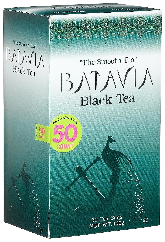 Batavia té negro, 50-Count Cajas (4 unidades): Amazon.com ...