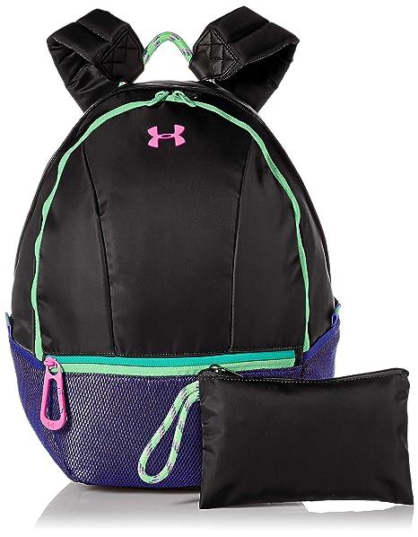 69e51b8dae8 Amazon.com: Under Armour Girls' Downtown Backpack, Black (001)/Penta ...