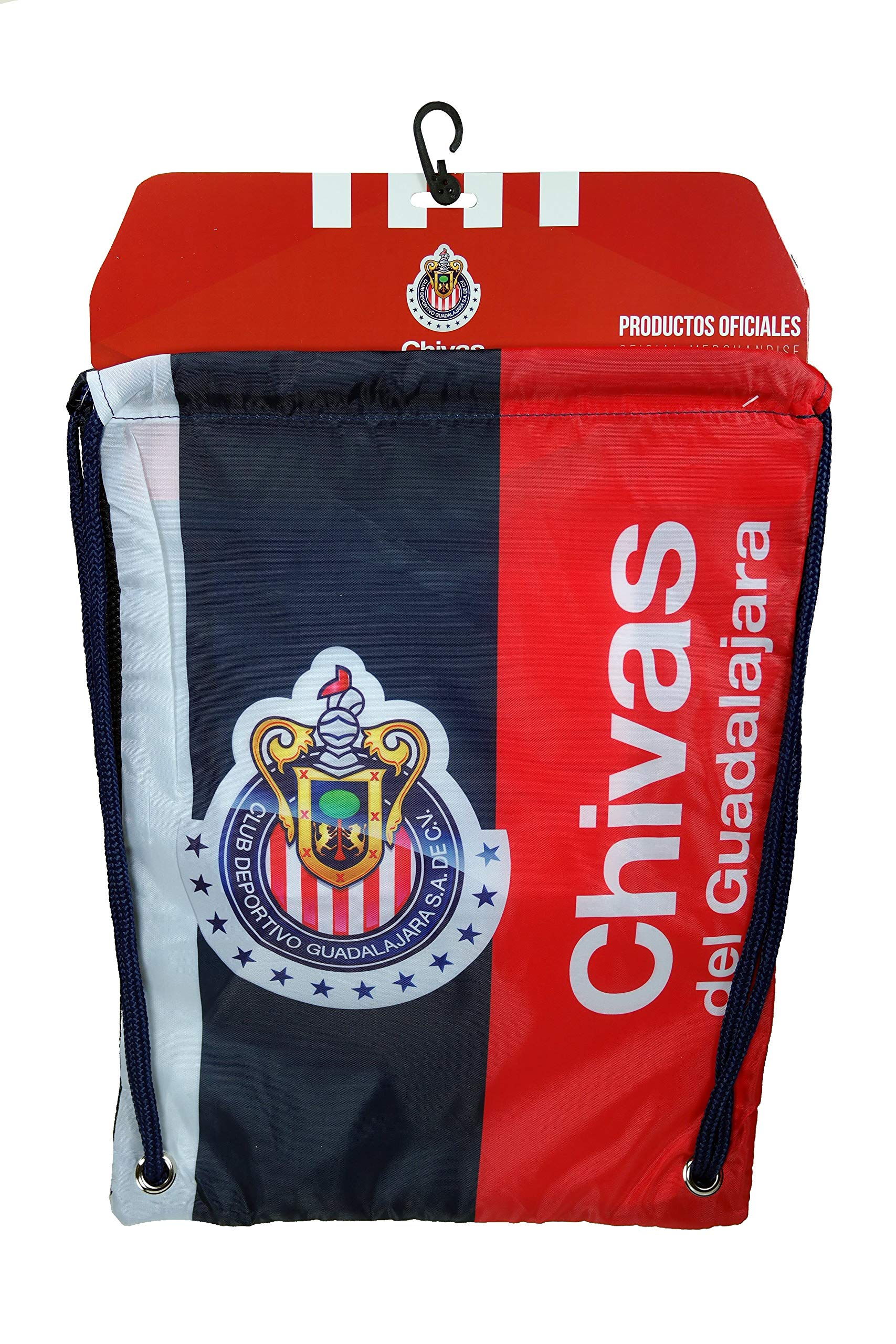Chivas De Guadalajara Authentic Official Licensed Soccer Drawstring Cinch Sack Bag 02-2