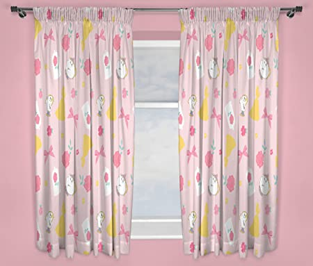 Disney Princess Curtains U2013 Perfect For Any Childrenu0027s Bedroom U2013 54 Inch  Size, Pink Microfibre