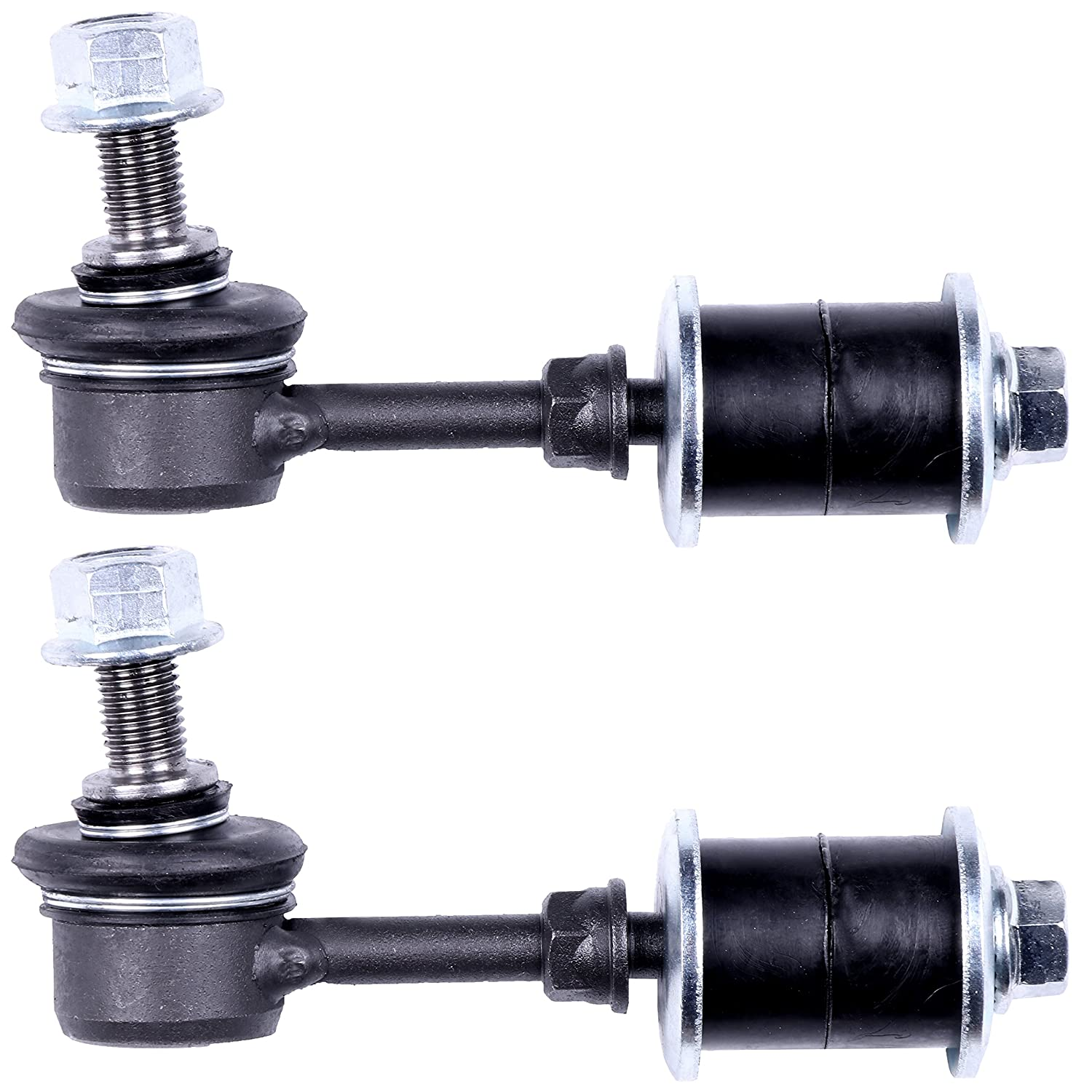 2pc ECCPP Front Sway Bar End Link Steering Link for 1997 1998 1999 2000 2001 Honda Prelude