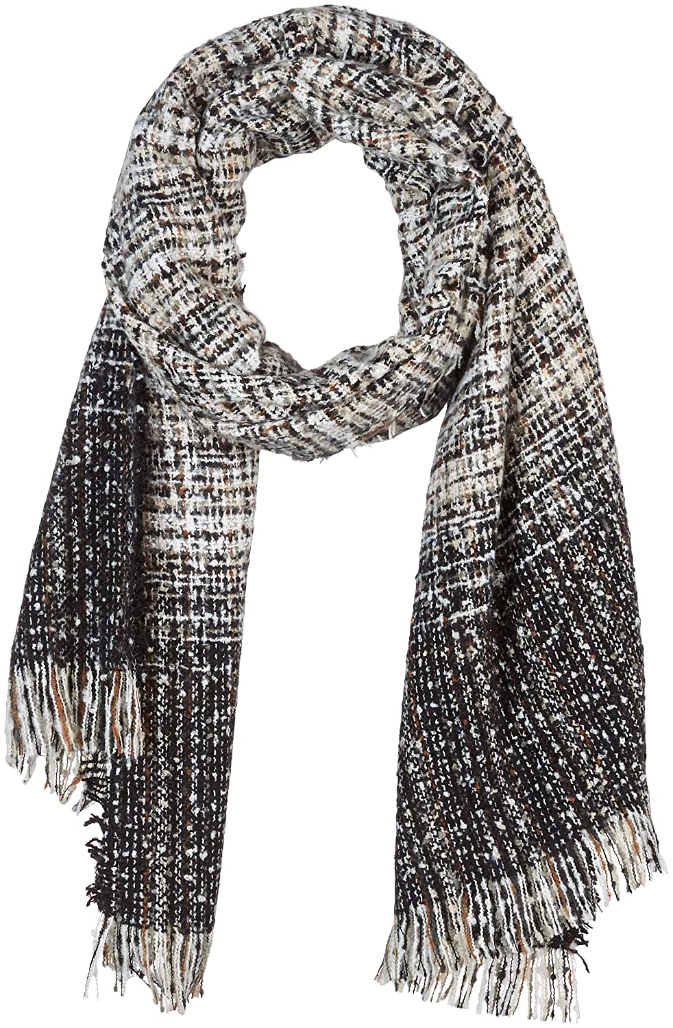 color10 Beautiful Nomad Pashmina Shawl Wrap Scarf in Solid and Plaid Pattern