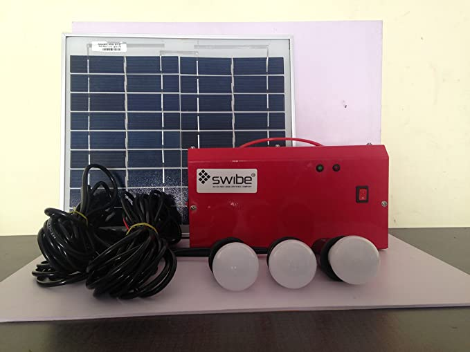 Induction Powers Solar Home Lighting System