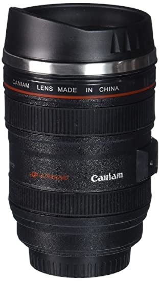 Amazon.com: EastVita Travel Coffee Mug, 24-105mm: Camera Lens ...