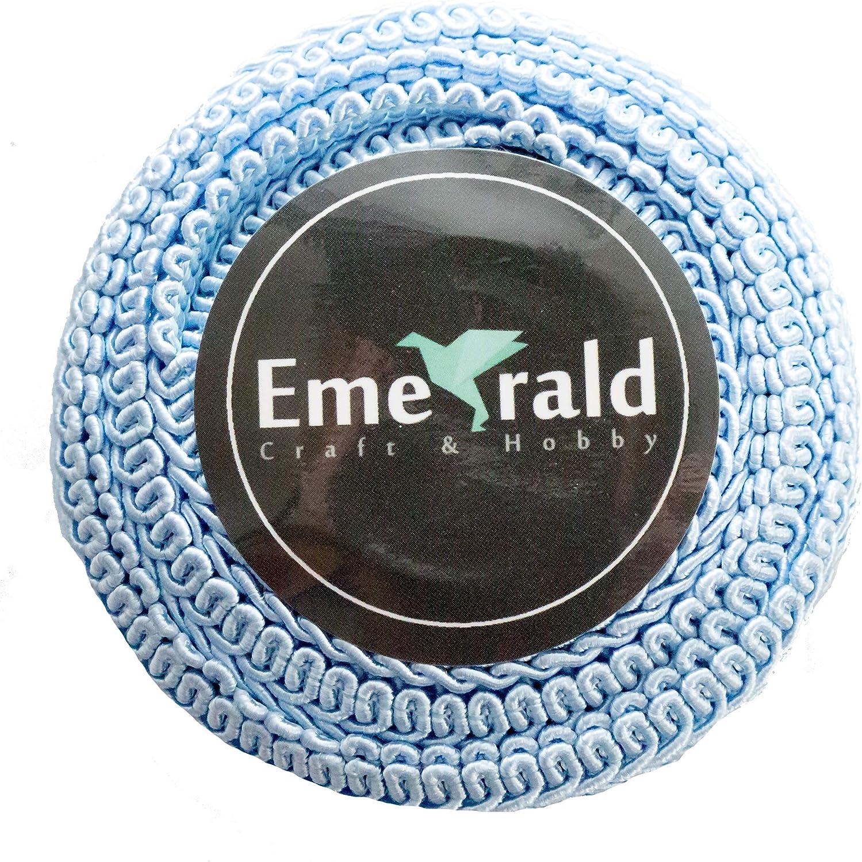 Gimp Braid Woven Ornamental Trim 3//8 Inch, Hot Pink 10 Yards