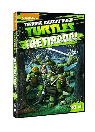 Las Tortugas Ninja: Retirada! [DVD]: Amazon.es: Personajes ...