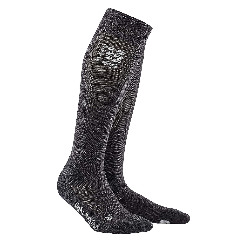 d6b18320f6fbb Men's Long Compression Wool Socks for Hiking - CEP Outdoor Light Merino  Socks