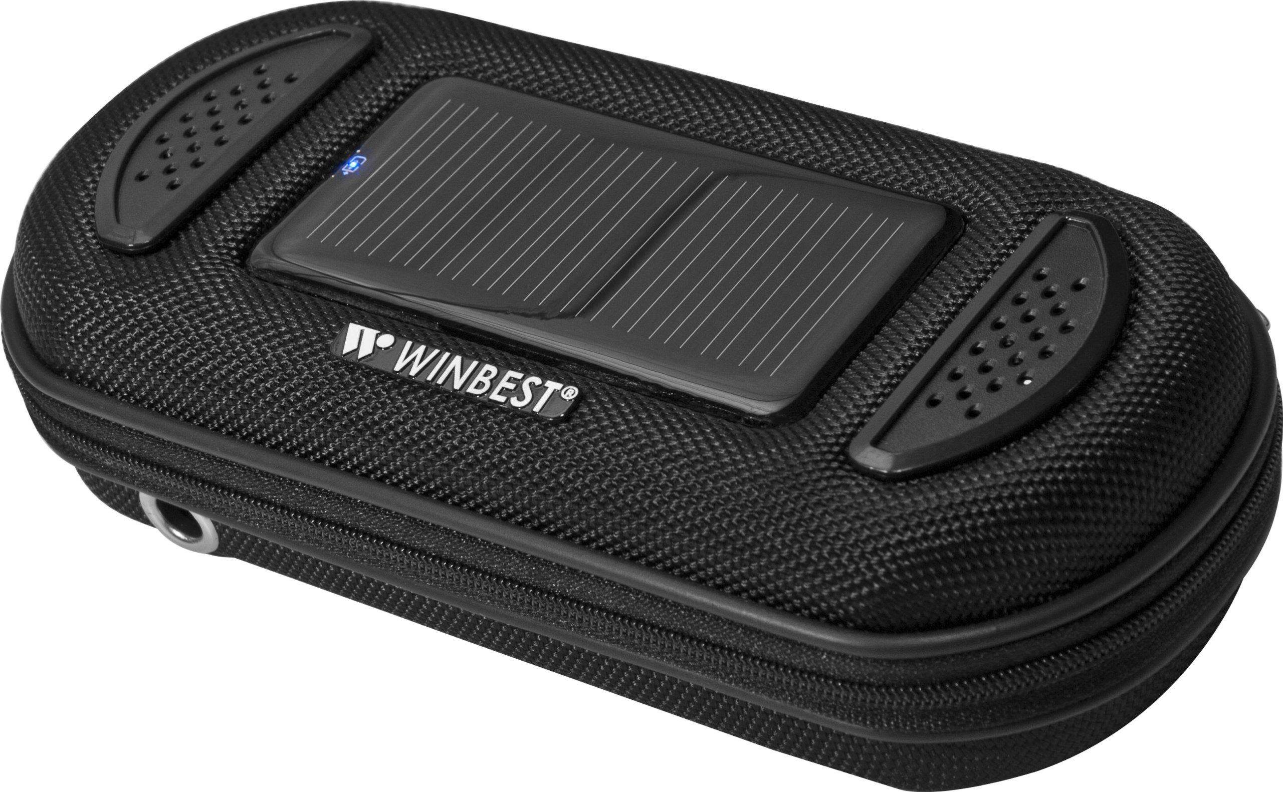 BARSKA Portable Solar Case with Speaker