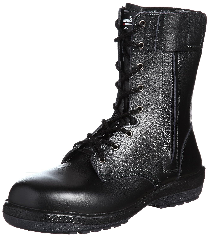[ミドリ安全] 安全靴 長編上 RT730F オールハトメ B002P75EIE ブラック 26.0 cm