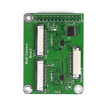 Arducam Multi Camera Adapter Module V2 1 for Raspberry Pi 3B+, Pi 3, Pi 2,  Model A/B/B+, Work with 5MP or 8MP Cameras (Raspbian 9 8 Backward