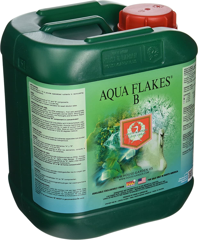 House & Garden HGAFB05L Aqua Flakes, 5 L fertilizers, Natural