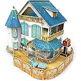 3D Puzzle Place Cubic Classic Rural Villa Dollhouse
