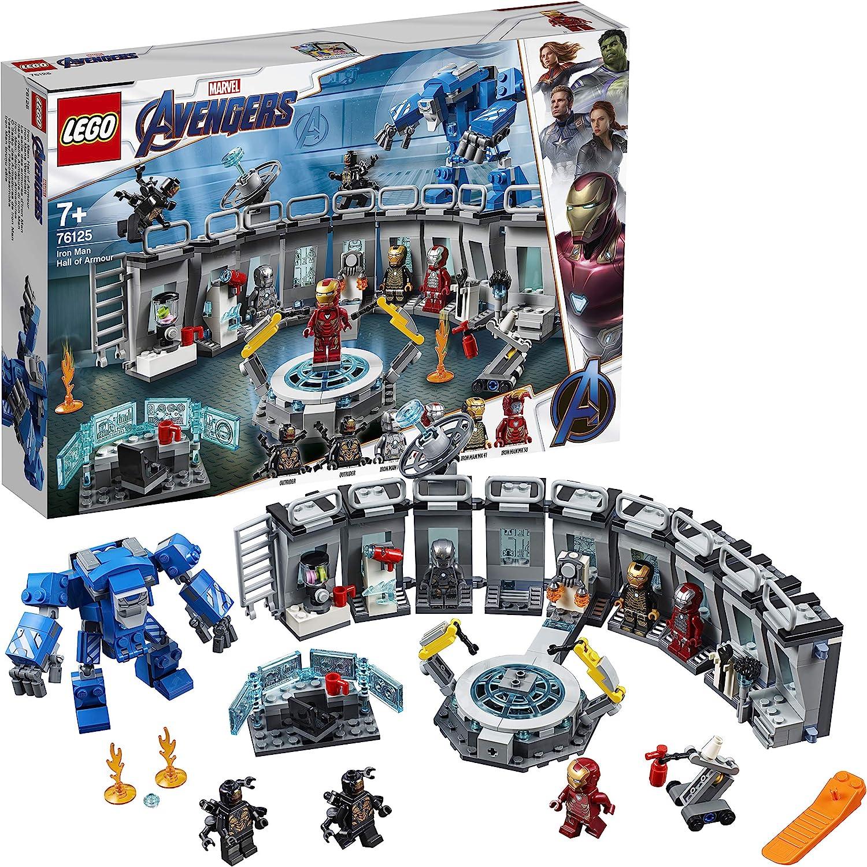 NUOVO in forma LEGO supereroi Capitan Marvel Mini figura Avengers finale di costruzione