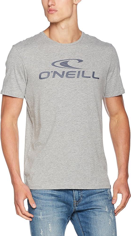 ONEILL Tees S/SLV Camiseta Manga Corta, Hombre, Gris (Silver Melee), M: Amazon.es: Ropa y accesorios