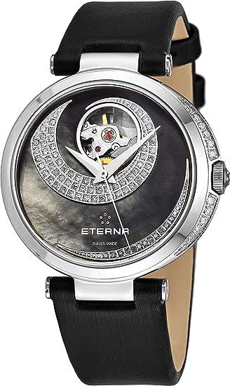 Eterna Grace Open Art Reloj de Mujer Diamante automático 34mm 2943-54-89-1368: Eterna: Amazon.es: Relojes