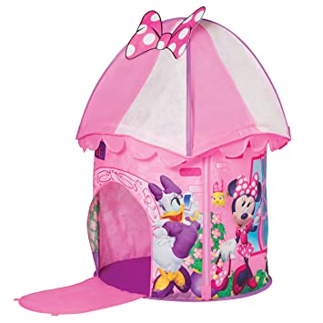 wholesale dealer d54e9 407e9 Disney Minnie Mouse KidActive Pop Up Playhouse Play Tent - Indoor or  Outdoor Portable Play - Daisy Duck, Minnie