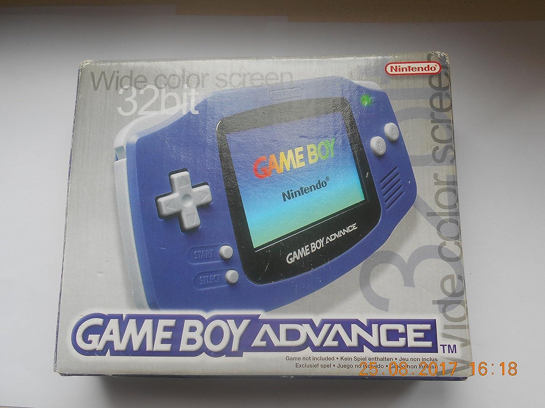 Amazon.com: Nintendo Game Boy Advance - Indigo: Video Games