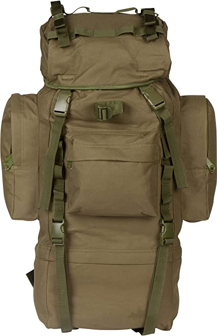 a58dcf7b2414d Amazon.com : 65 Liter Internal Frame Camping, Tactical Military ...